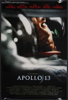 Apollo 13 posters for sale online. Buy Apollo 13 movie posters from Movie Poster Shop. We're your movie poster source for new releases and vintage movie posters. Film Movie, See Movie, Gary Sinise, Great Films, Good Movies, Awesome Movies, Apollo 13 1995, Deadpool, Space Movies
