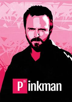 Pinkman - Breaking Bad - Séries | Posters Minimalistas
