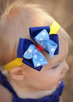 Hey, I found this really awesome Etsy listing at https://www.etsy.com/listing/154410765/snow-white-boutique-baby-bow-disney-bow