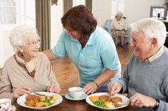 A stroke survivor regains independence at the dinner table