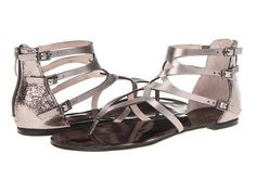 Vince Camuto #shoes #sandals #flats $64 || I want some like this but not shiny.
