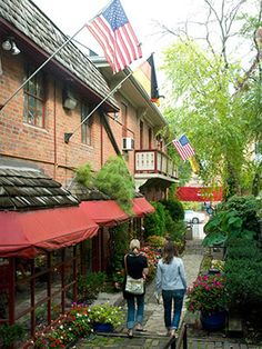 Midwest Living says German Village is one picturesque enclave. Agree!