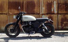 Honda CB650SC Nighthawk by Aniba Motorcycles #motorcycles #bratstyle #motos   caferacerpasion.com