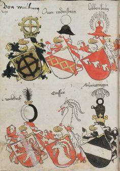 Wappenbuch des St. Galler Abtes Ulrich Rösch Heidelberg · 15. Jahrhundert Cod. Sang. 1084 Folio 269