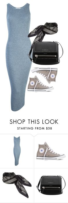 """Untitled #1818"" by erinforde ❤ liked on Polyvore featuring Converse, DKNY and Givenchy"