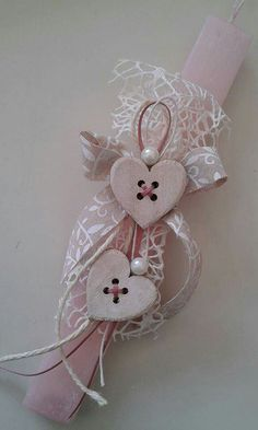 Easter Projects, Easter Crafts, Orthodox Easter, Greek Easter, Candle Art, Easter Season, Palm Sunday, Felt Diy, Holiday Time