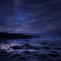 Purple Sky - Fototapeten & Tapeten - Photowall