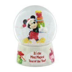 Disney Classic Mickey Mouse Christmas Snowglobe