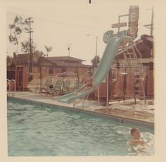 In the Pool at the Waikiki Motel, 1967 - Anaheim, California | Flickr - Photo Sharing!