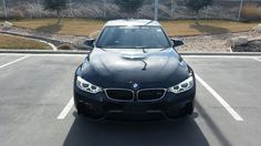 The front of the BMW I want.