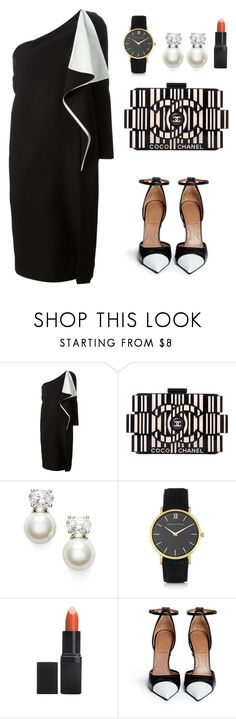 """""""My First Polyvore Outfit"""" by alluregadsden04 ❤ liked on Polyvore featuring Chloé, Chanel, Judith Jack, Larsson & Jennings, Barry M and Givenchy"""