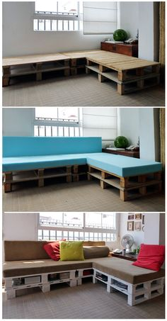 Euro Pallet Furniture... So cool love pallet furniture