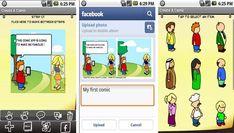 Divertido Picture Maker es una divertida aplicación gratuita para crear cómics, tiras cómicas y memes desde nuestro dispositivo con Android 2.2 ó posterior.
