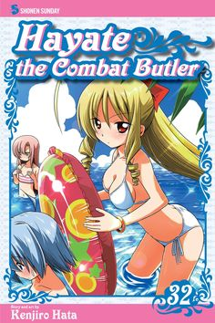 Hayate 32 • Hayate the Combat Butler by Kenjiro Hata (Hayate no Gotoku) Manga Covers Viz English Version