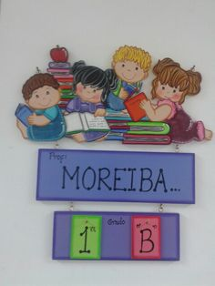 Cartel de aula 3d Shapes, Ideas Para, Decoupage, Classroom, Children, Anime, Crafts, Fictional Characters, Country