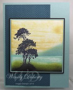 Silhouette Sympathy by Wdoherty - Cards and Paper Crafts at Splitcoaststampers