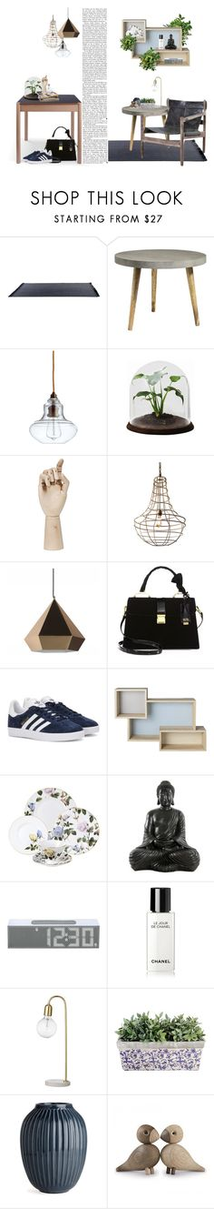 """""""Danish Homes - 2016"""" by crazyaboutthings ❤ liked on Polyvore featuring interior, interiors, interior design, home, home decor, interior decorating, Cyan Design, HAY, Dot & Bo and Miu Miu"""