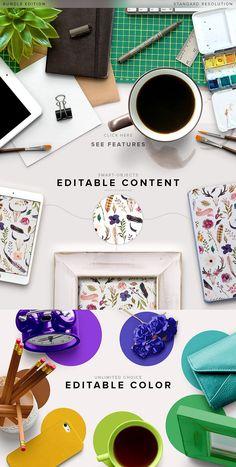 Custom Scene - Bundle Edition by Román Jusdado on @creativemarket #ad