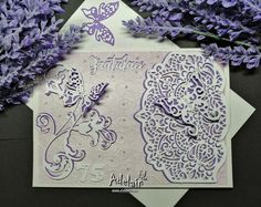 Přáníčko k narozeninám fialové Handmade, Self, Hand Made, Handarbeit