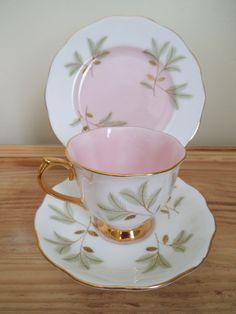 Royal Albert 'Braemar' tea cup trio