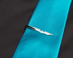 Bat+Tie+Clip+by+KevinCossDesigns+on+Etsy,+$25.00