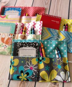 Crayon Wallet Organizer with Doodle Book | Jane