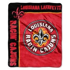 University of Louisiana at Lafayette School Spirit Throw at SportsFansPlus.com