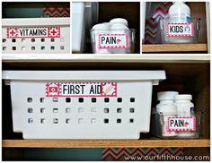 Organizacja z duszą: Apteczka i organizacja przechowywania leków