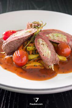 Noble Rinderroulade – ein Gericht aus unserem Online-Kochkurs Rinderfilet total