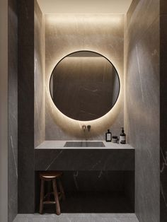 What is The Best Standard Height of a Bathroom Vanity Wc ideas Badkamer spiegel Vessel sink bathroom Gäste wc Badezimmer waschtisch Waschtisch diy Bathroom Design Inspiration, Bad Inspiration, Design Ideas, Bathroom Mirror Makeover, Modern Powder Rooms, Modern Toilet, Villa Design, Design Hotel, House Design