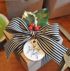 Gift wrap idea for the holidays