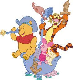 Pooh, Tigger & Piglet