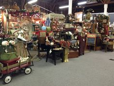 My booth at Farmhouse Show in Turner Oregon