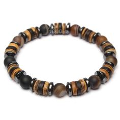 1ad4afb2bfb2 Beautiful men women Bracelet beads Ø 8mm natural stone