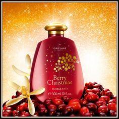 Berry Christmas Bubble Bath