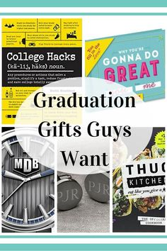 Large University Graduation Gift Bag Holder Presents Wrapping Hat Scroll Him Her