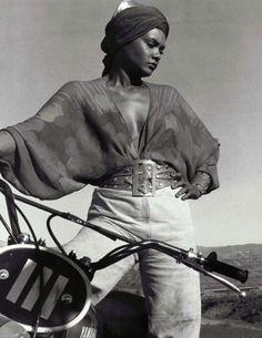 "Tamara Dobson in Cleopatra Jones (1973, dir. Jack Starrett)  ""She handles a car like a gun. She handles a gun like a man. And she handles a man like Cleopatra…"""