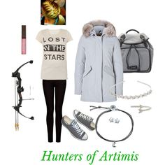 """""""Hunters of Artimis"""" by kenzie-cupcakes on Polyvore"""