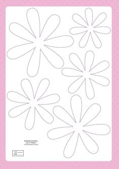 Free papercraft templates from Papercraft Inspirations 160 - Papercraft Inspirations Inspire your occasion crafting using the free papercraft templates from Papercraft Inspirations 160 – including pretty paper succulents templates. Free Paper Flower Templates, Felt Flower Template, Applique Templates, Templates Printable Free, Owl Templates, Applique Patterns, Giant Paper Flowers, Fabric Flowers, Paper Butterflies
