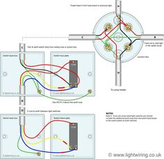 house wiring diagram supply to next in uk house electrical wiring 3 way switching wired to a loop in loop out radial lighting circuit done junction boxes