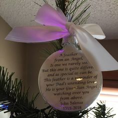Mom Memorial Ornament Angel in Heaven I call her Momma - Loss of Parent In Memory Sympathy Gift Remembrance Bauble Remembering Mother Mama In Memory Christmas Ornaments, Memorial Ornaments, Memorial Gifts, Personalized Christmas Ornaments, Christmas Time, Christmas Gifts, Glitter Ornaments, Christmas Things, Bereavement Gift