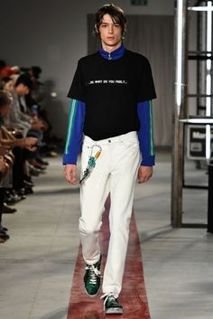 MSGM Spring/Summer 2017 Menswear Collection
