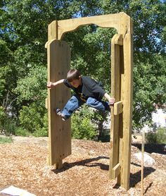 "Natural Playgrounds Store @Cindy edwards ""Spiderman Training"""