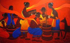 Buy an authentic print of this painting on- www.jiaurrahman.com