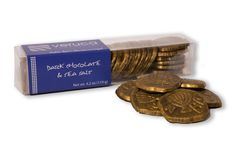 Gelt for Grown-Ups® Dark Chocolate with Sea Salt, for $15, from Veruca Chocolates~!