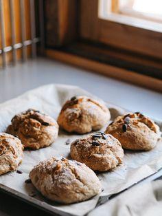 Rapeat ja nopeat jääkaappisämpylät   Annin Uunissa Salty Foods, Most Delicious Recipe, Food Inspiration, Mango, Muffin, Food And Drink, Yummy Food, Cookies, Baking