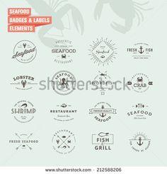 Seafood Vectores en stock y Arte vectorial   Shutterstock
