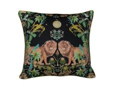 King of the Jungle! Our LEO cushion is available in black or white. Find us @arkpapers INSTAGRAM Cape Town South Africa, Design Reference, Ark, Cushions, King, Throw Pillows, Instagram, Toss Pillows, Toss Pillows