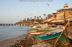 Bakau Fishing Village, The Gambia, West Africa.
