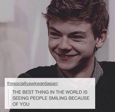 ❤️His smile is absolutely adorable!❤️